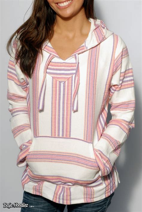 baja hoodie rug pink coral purple and white lightweight baja hoodie for baja hoodies