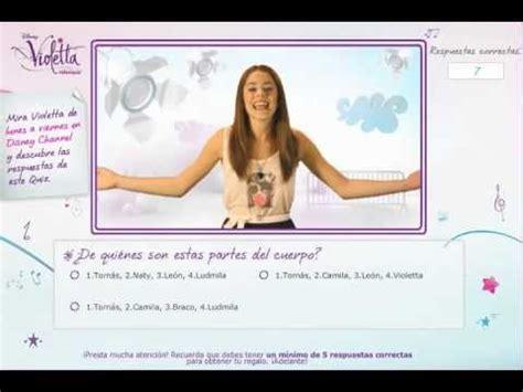 violetta test violetta respuestas quiz en espa 241 ol