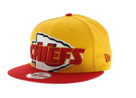 kansas city chiefs team colors the squared up snapback new