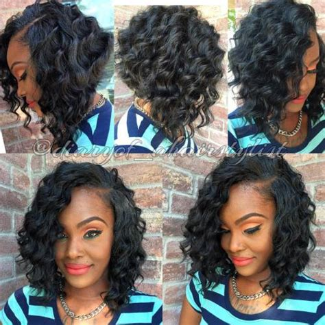 curly bob hairstyles for black 60 showiest bob haircuts for black