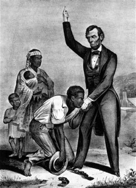 how abraham lincoln end slavery slavery caused civil war