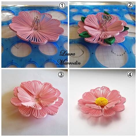Quilling Kwiaty Tutorial | 680 best quilling tutorial images on pinterest paper