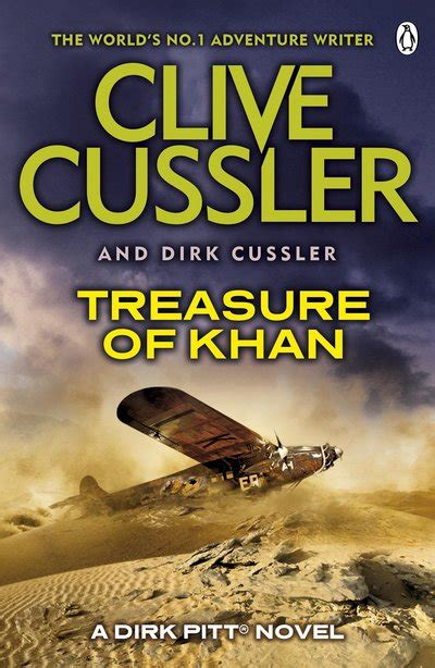 treasure dirk pitt b01n061y4a treasure of khan by clive cussler penguin books australia
