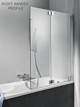 bath shower screens folding bath screens  frameless glass