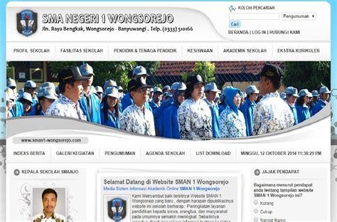 tutorial desain web sekolah contoh wesite sekolah keren baba studio kursus website