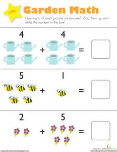picture math addition and subtraction printable