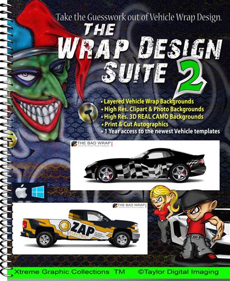 Taylor Digital Imaging Bad Wrap Templates