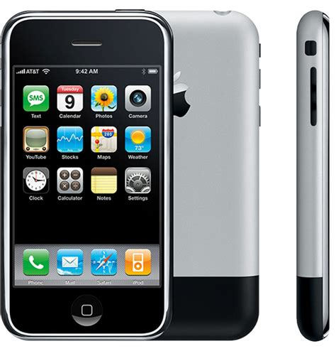 Iphone 7 Iphone 8 Iphone X Original 100 Made 1 10 years ago today the original iphone officially launched mac rumors
