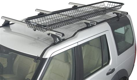 Cargo Trailer Roof Rack by Rhino Rack Steel Mesh Roof Mounted Cargo Basket 83 Quot X 14 Quot Wide Rhino Rack Roof Cargo