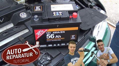 Bmw 1er Cabrio Batterie Laden by Batterie Richtig Wechseln Autobatterie Wechsel Diy