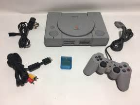 ps 1 console sony playstation ps1 console controller bundle