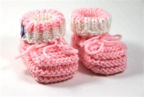 stricken einfach strickanleitung einfache babyschuhe stricken