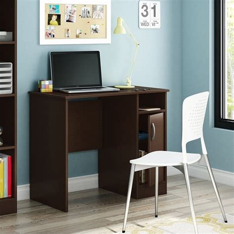 South Shore Axess Small Desk In Chocolate 7259075 South Shore Small Desk