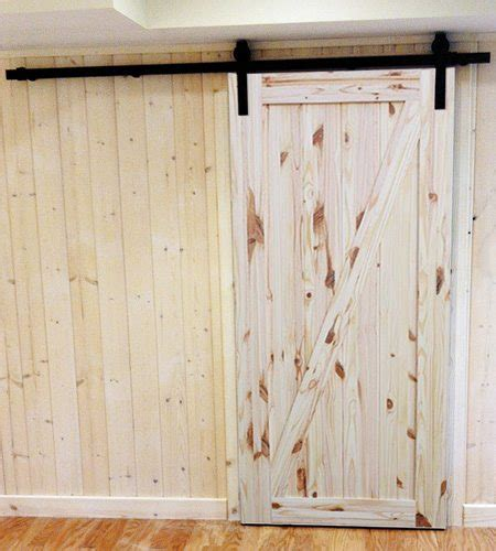 Interior Knotty Pine Doors Interior Rustic Knotty Pine Barn Door 187 Plywood 174