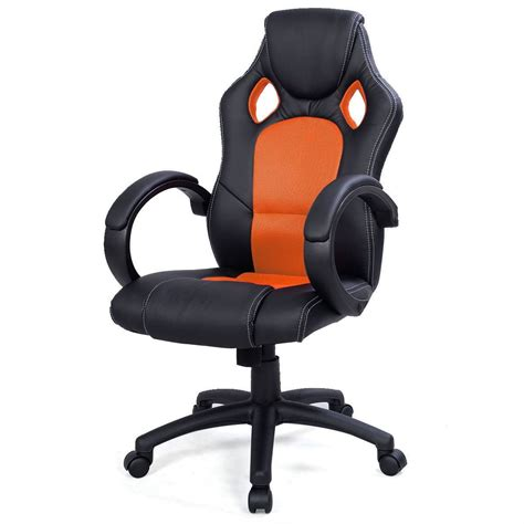 Racing Seat Desk Chair by Convenience Boutique High Back Race Car Style Seat