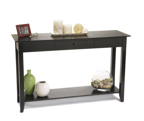 Sofa Table Living Room Hallway Bedroom Office Drawer Shelf Sofa Table With Shelf
