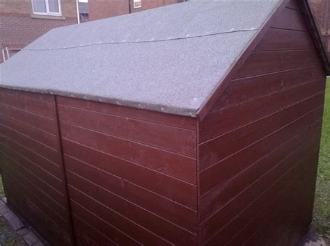 Felt On Shed Roof by Green Mineral Shed Roofing Felt Shed Roofing Felt And