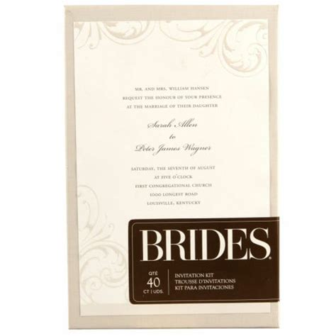 brides printable wedding invitation kits brides printable wedding invitation kits yaseen for