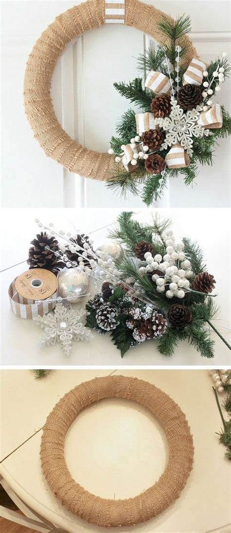 50 creative homemade diy christmas decorations ideas