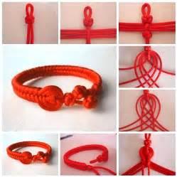 Handmade Craft Tutorials - how to make beautiful bracelet step by step diy