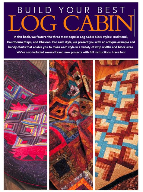 not a fan journal ebook elsie quilts review build your best log cabin by fons