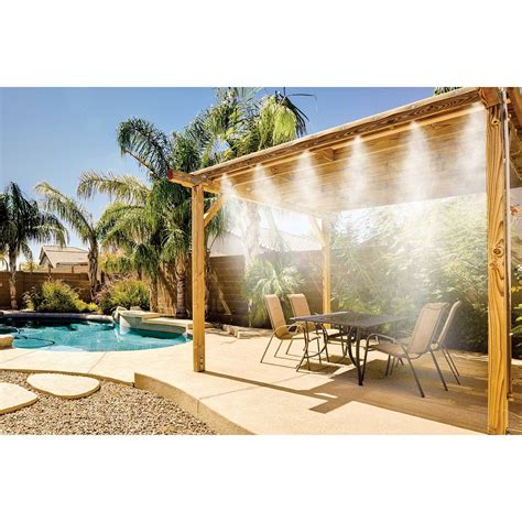 mistymate cool patio 32 combo misting system 32 foot 17