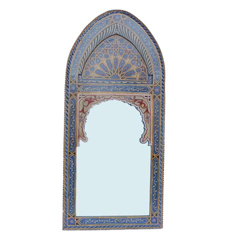 spiegel orientalisch orientalischer spiegel sharif blau bei ihrem orient shop
