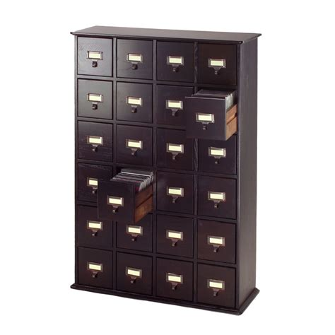 multimedia storage cabinet leslie dame library style multimedia storage cabinet espresso cd 456es