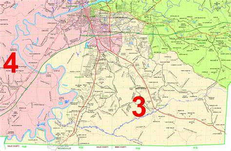 Tuscaloosa County Property Tax Records County Commission District Maps Tuscaloosa County Alabama