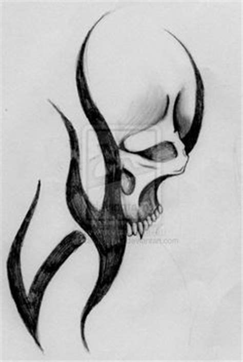 L Drawing Easy by Awesome Drawings Of Skulls Tribal Skull By Huttuz On