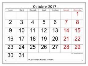 Calendrier Octobre 2017 Calendriers Octobre 2017 Ld