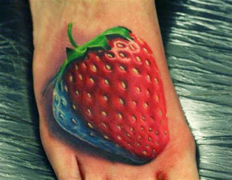 strawberry tattoos 25 yum yum strawberry designs looking in