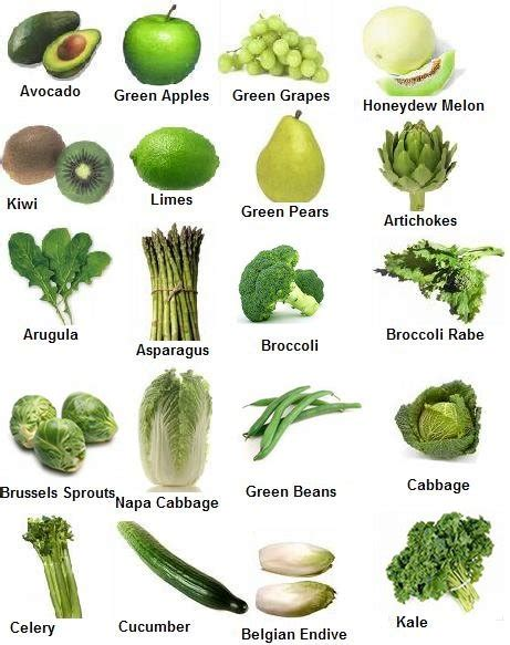 a vegetables list list of fruits and vegetables health benefits and pictures