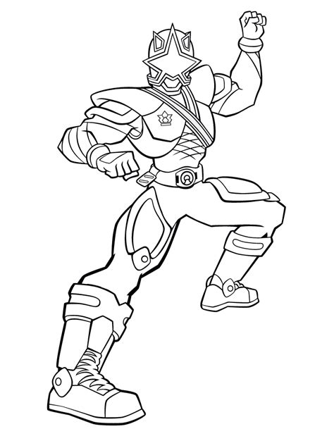 printable coloring pages power rangers samurai power ranger coloring pages samurai coloring pinterest