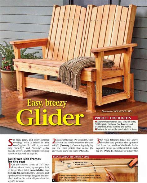 glider bench plans glider bench plans woodarchivist