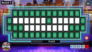 wheel of fortune powerpoint template best and various