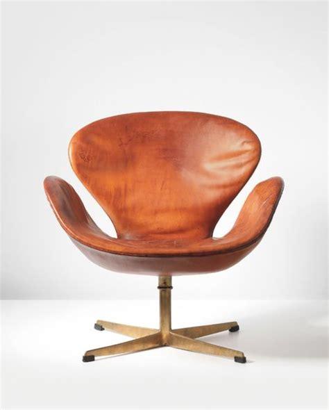 arne jacobsen swan arne jacobsen swan swivel chair 1958 leather bronze