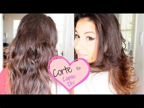 como cortarse el pelo uno mismo a capas como evitar cortarse el pelo facilisimo