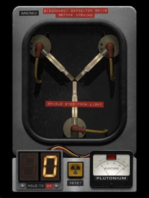 could the flux capacitor work into back to the future style time traveling yes there s an app for that isource