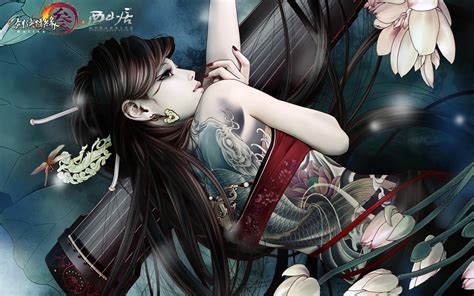 yakuza tattoo hd wallpaper 剑侠情缘网络版叁 主题宽屏壁纸 宽屏图15 电脑之家pchome net