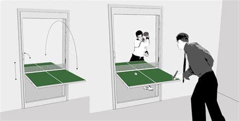 ping pong table door table tennis door door that folds into a ping pong