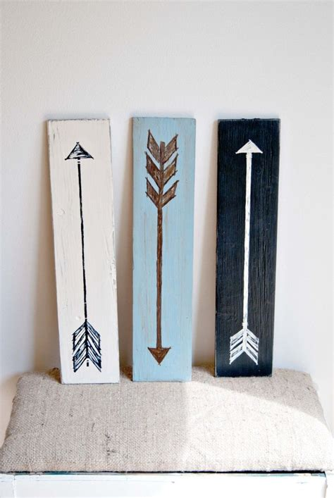 diy wood decor 15 striking ways to decorate with arrows