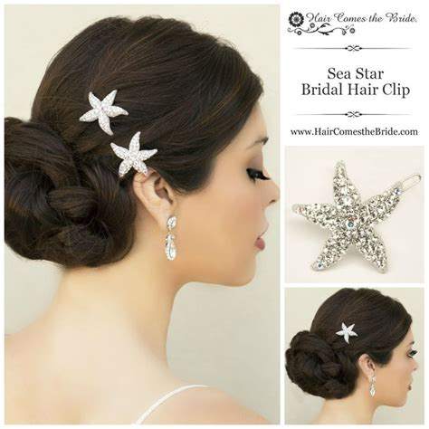 starfish hair accessories by hair comes the bride 17 best images about bridal hair accessories jewelry