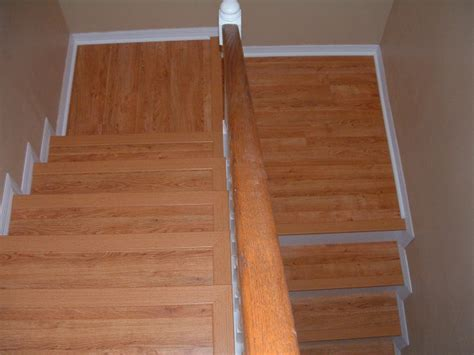 How To Run Laminate Flooring by Installing Laminate Flooring On Stairs Diy Stairs