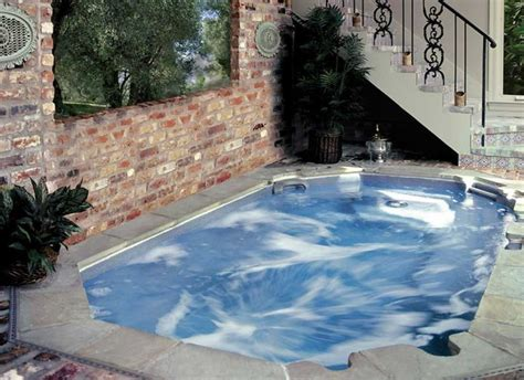 in ground bathtub large in ground hot tub ideas