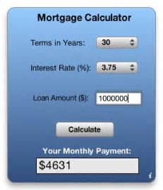 Mortgage Calculator Apple Downloads Dashboard Widgets Mortgage Calculator