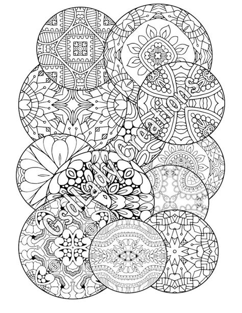 round mandala coloring pages 53 best adult coloring pages images on pinterest