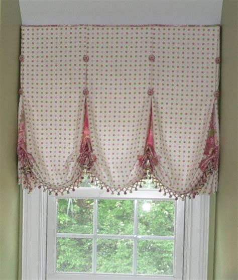 Balloon Curtains And Shades Made Balloon Shade With Accented Inverted Pleat By Caty S Cribs Custommade