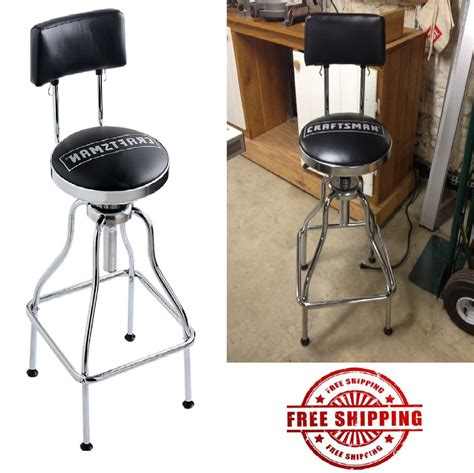 Garage Bar Stools by Mechanic Chair Garage Bar Stool Craftsman Adjustable Work