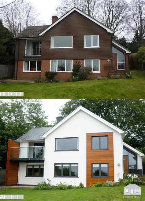 House Exterior Design Surrey by 1960 S Before And After Remodelling Project In Guildford